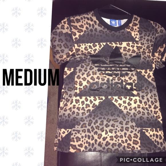 NWOT Adidas Special Release Leopard Tee Medium NWT